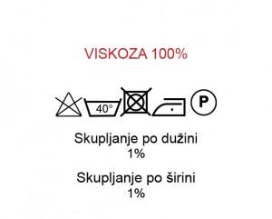 Viskoza 100%