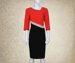 Ženska haljina VERICA Srnec Style