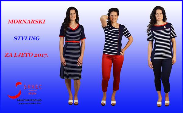 Mornarski styling za ljeto Srnec Style