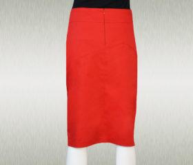 Ženska suknja BELA