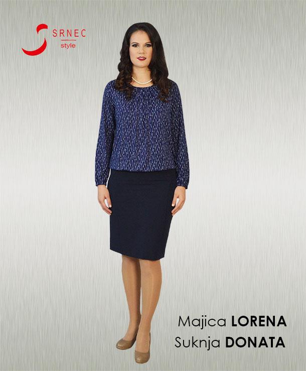 Majica Lorena Suknja Donata Srnec Style