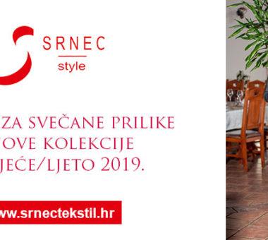 HALJINE ZA SVEČANE PRILIKE IZ KOLEKCIJE ZA PROLJEĆE/LJETO 2019.